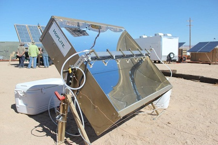 ExFOB 2011, military renewable energy