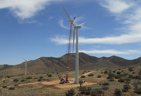 cleantech investment, Google wind power