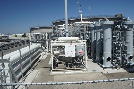 sewage treatment to hydrogen generation, Orange County