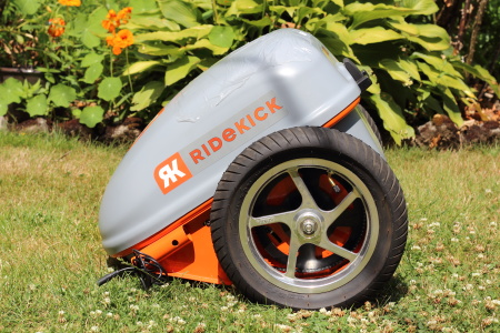 RideKick, Electric Bicycles, Trailer