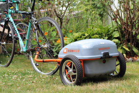 RideKick, Electric Bicycle, Trailer Kit