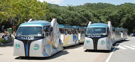 South Korea, Seoul, Electric Vehicles, Electric Tram