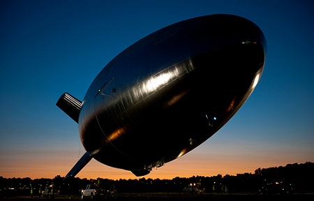 unmanned solar-powered military blimp, HALE-D, Lockheed Martin