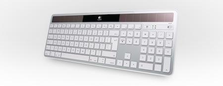 Logitech, Apple, Macs, Keyboard, Solar Power
