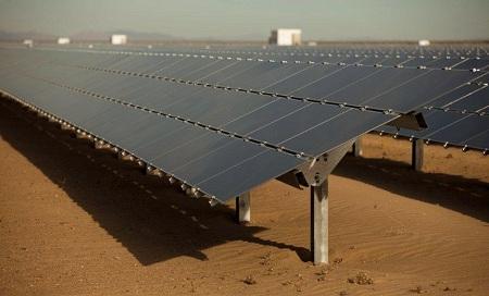 solar power plant, agua caliente, NRG