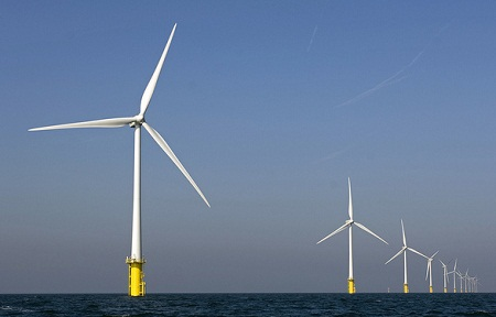 Dutch offshore wind-power study, environmental impact