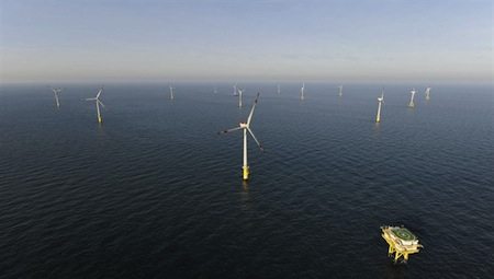 european offshore wind power