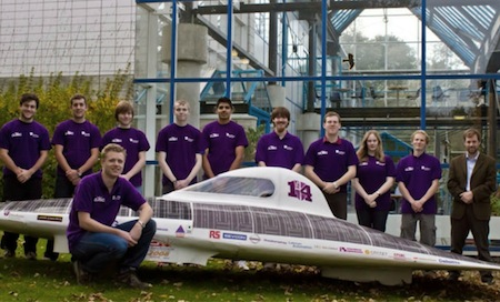 Durham University Solar Car, World Solar Challenge, Australia, United Kingdom