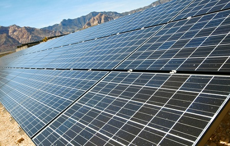 Blythe solar power project, PV