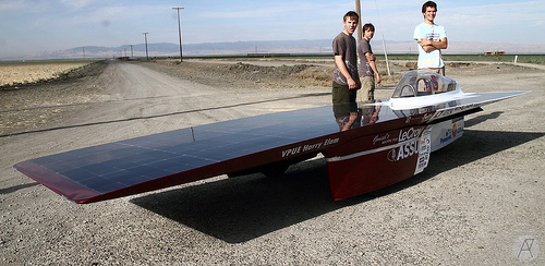 Stanford University, Solar Car, Solar Vehicle, World Solar Competition, Australia
