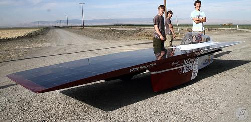 Stanford Solar Car Set To Race In Australia Earthtechling