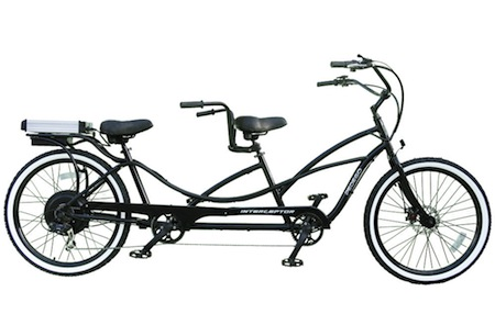 Hammacher Schlemmer, Tandem Bicycle, Electric Bicycle