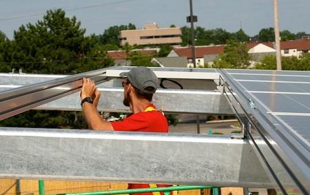 Solar for Soldiers, Flannagan's Dublin solar installation
