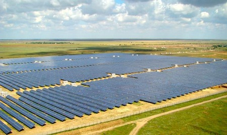 ukraine solar power plant