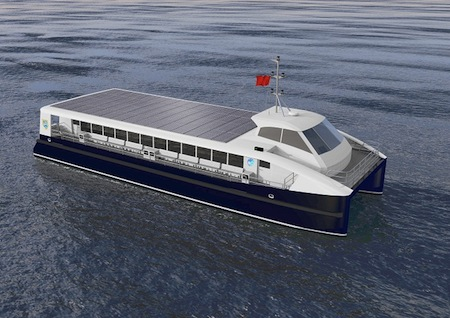 Electric Boat, Ferry, United Kingdom, China