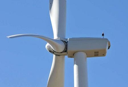Illinois wind-power plant turbines, GE, 1.6 megawatt