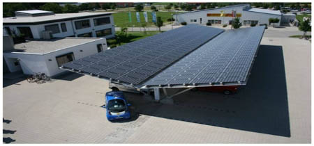 Solar carport, Germany