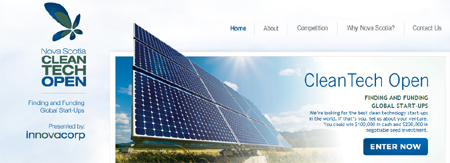 Nova Scotia CleanTech Open screenshot