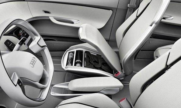 Audi A2, Audi, Concepts, Electric Cars, Electric Vehicles, Frankfurt Motor Show 2011
