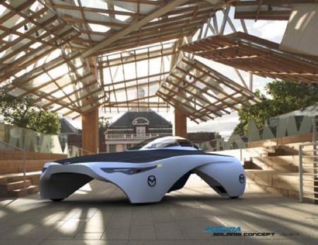 Aurora Solaris concept car