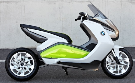 BMW Motorrad Concept e, BMW, Electric Vehicles, Electric Scooters, Frankfurt Motor Show 2011