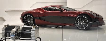 Rimac Automobili Concept One, Rimac Automobili, Electric Cars, Electric Vehicles, Croatia, Frankfurt Motor Show 2011