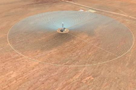 Crescent Dunes solar project, SolarReserve