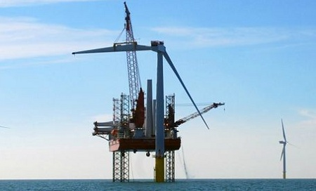 Anholt offshore wind power project, Denmark