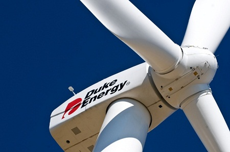 Texas wind power, Duke Energy