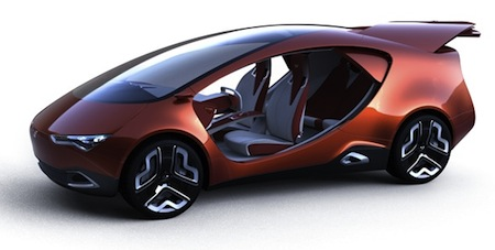 Yo Auto, Ë-Concept, Russia, Concepts, Frankfurt Motor Show 2011