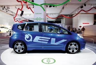 Honda EV Concept, Electric Vehicles, Electric Cars, Concepts, Honda, Frankfurt Motor Show 2011