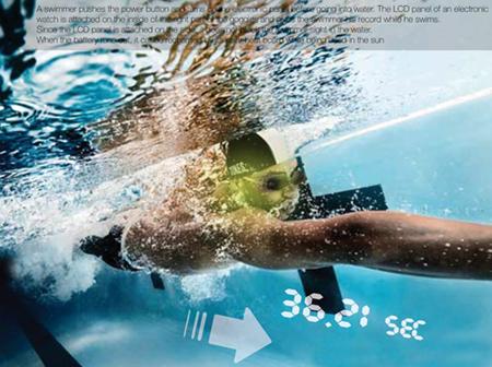 My Pace swim goggles
