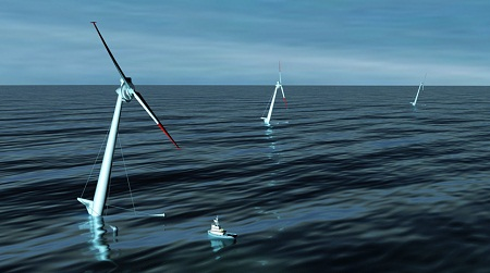 offshore wind power, DOE investment, Nautica Windpower