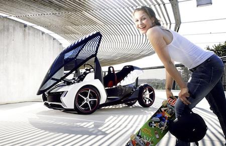 Opel RAK e, Opel, Electric Cars, Electric Vehicles, GM, Concepts, Frankfurt Motor Show 2011