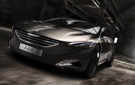 Peugeot HX1, Hybrids, Plug-In Hybrids, France, Diesel