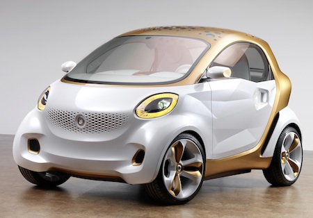 Smart Forvision, Daimler, Electric Vehicles, Electric Cars, Frankfurt Motor Show 2011