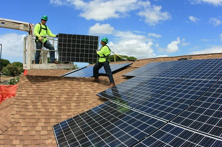 SolarStrong rooftop solar for military bases, Solar City