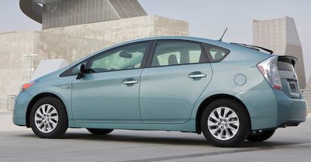 2012 Toyota Prius Plug-In Hybrid, Toyota, Hybrids, Plug-In Hybrids