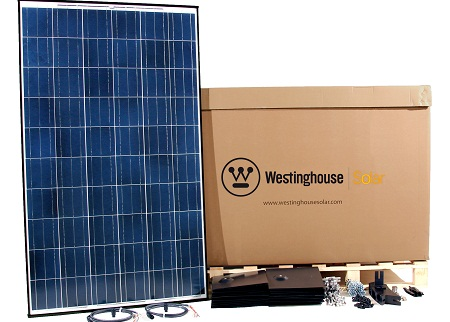 solar power kit, Westinghouse