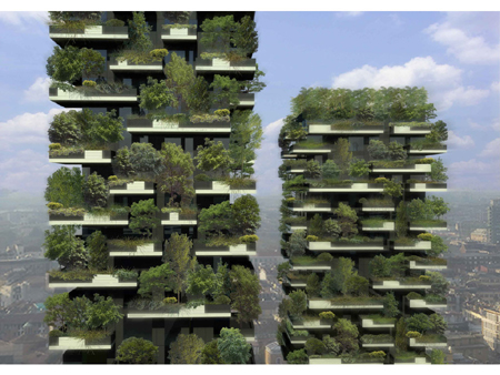 Bosco Verticale green towers
