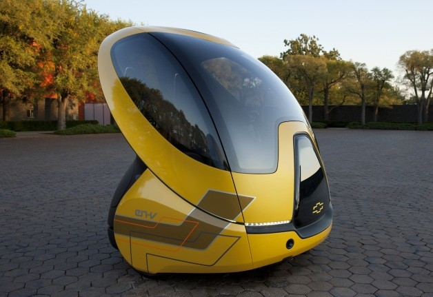 Chevy En V The Electric Car Of Tomorrow Earthtechling