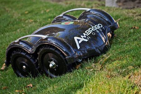 Ambrogio Robot electric lawnmower