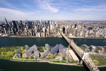 Cornell's proposed NYC Tech Campus