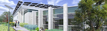 North Shore Community College net zero building