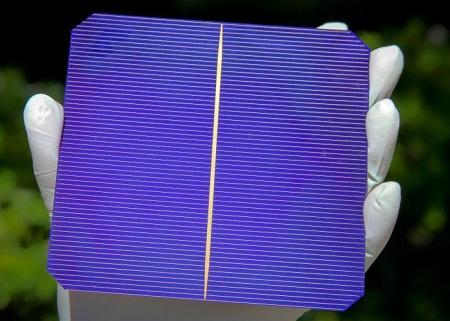 Silevo solar cell