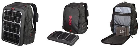 solar backpack laptop charger, Voltaic