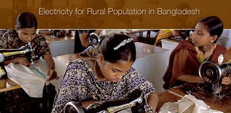 Bangladesh rural electrification, solar power, World Bank