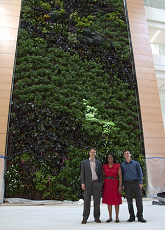 Biowall, Drexel University researchers