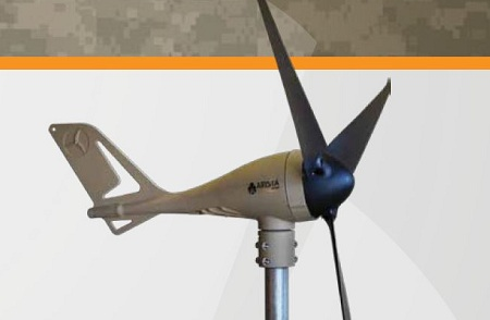 portable wind turbine, Arista Power