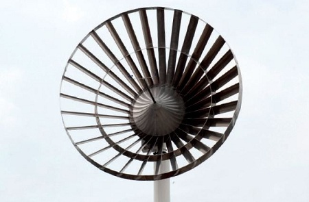 Eco Whisper noiseless wind turbine